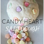 Candy Heart Salt Dough Recipe Homemade Sensory Play