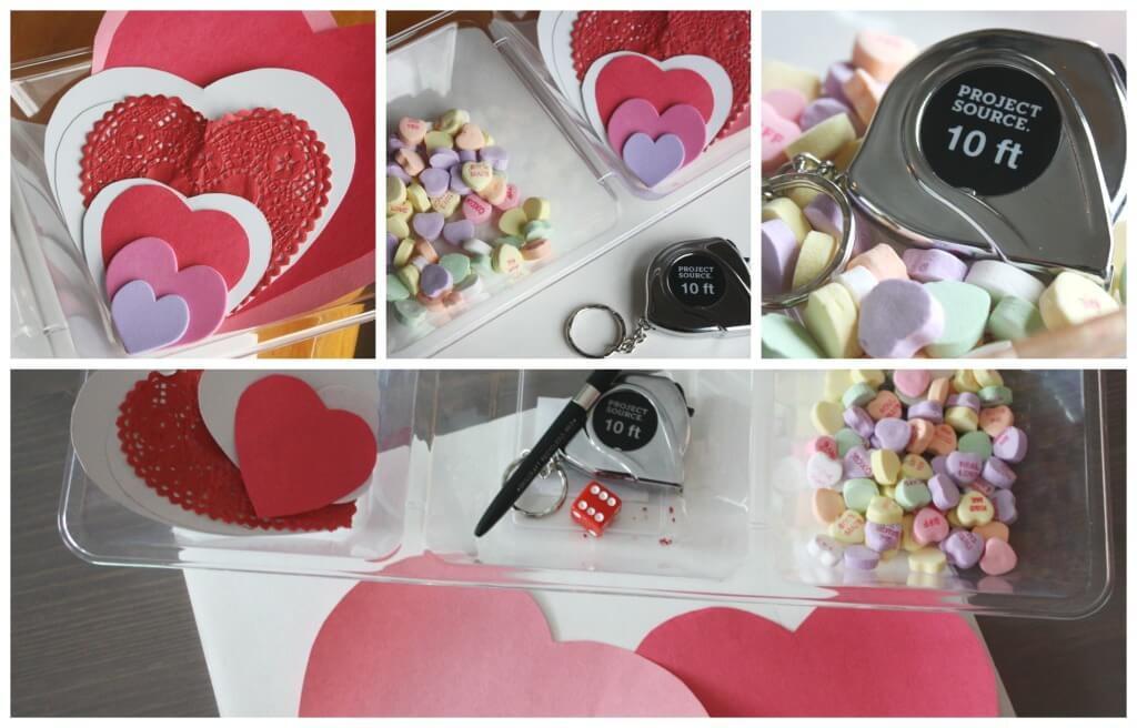 Candy Hearts Measuring Math Preschool Activity Valentines Day Math