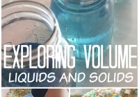 Exploring Volume Science Activity Math Play STEM for Kids