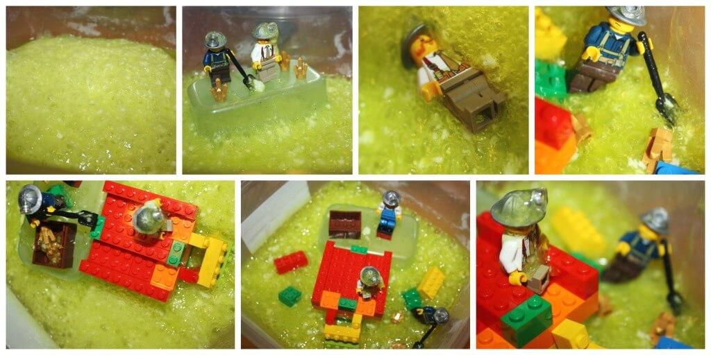 Fizzing Slime Bubbling Slime Sensory Play Lego Small World