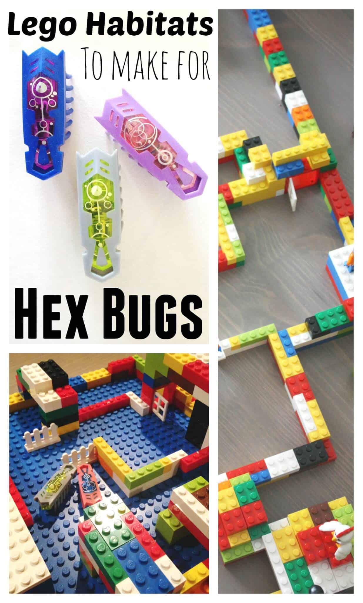 Hex Bugs Lego Habitat Building Ideas for Kids