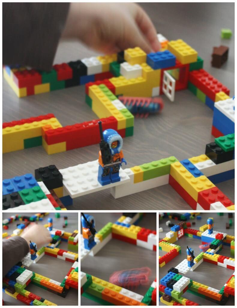 Hex Bugs lego habitat Building Idea