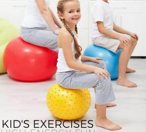 Kids Exercises High Energy for Healthy Minds and Bodies