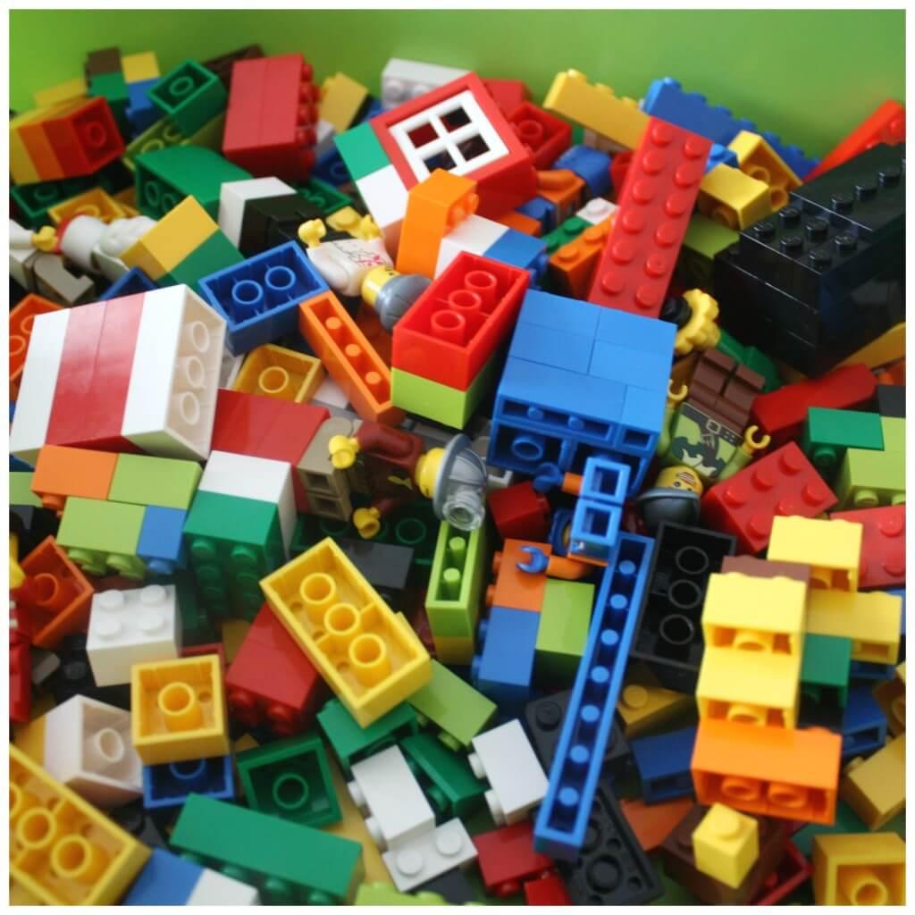 Lego Box Building Activity Basic Bricks