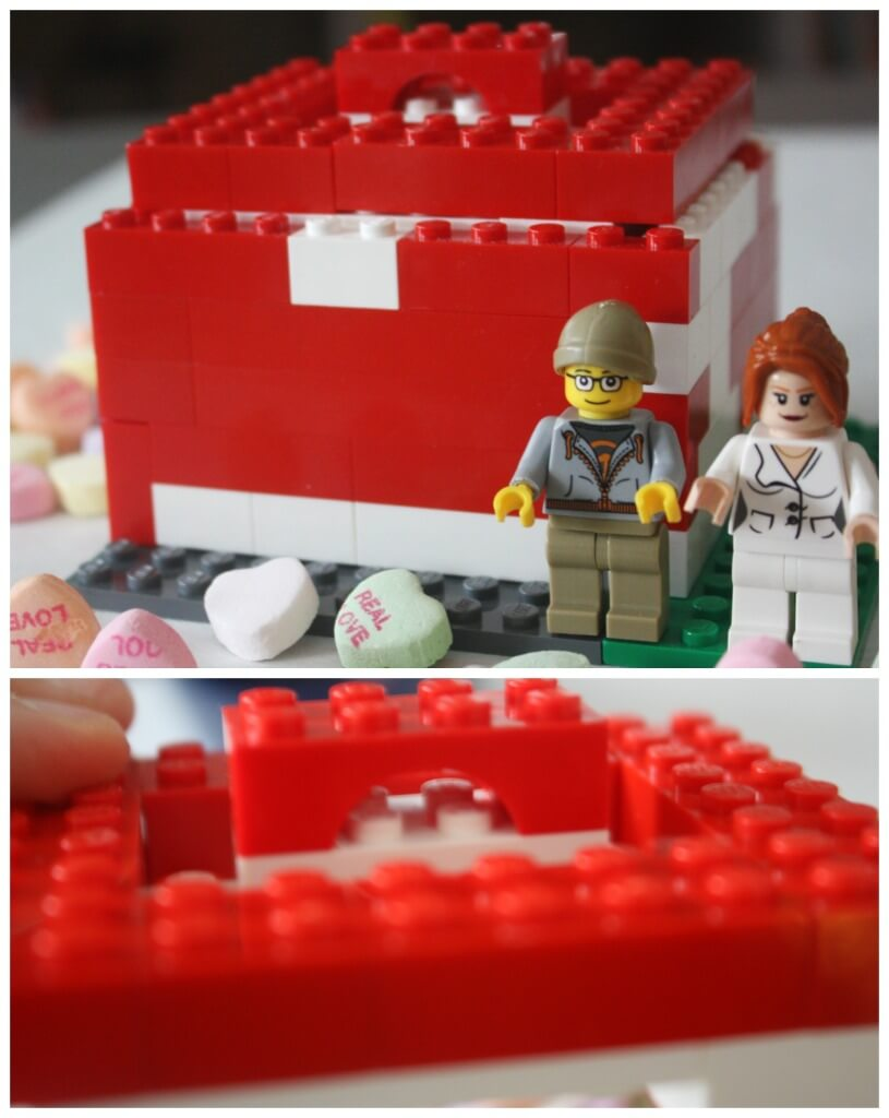 Lego Candy Box Heart STEM Lego Box Lid