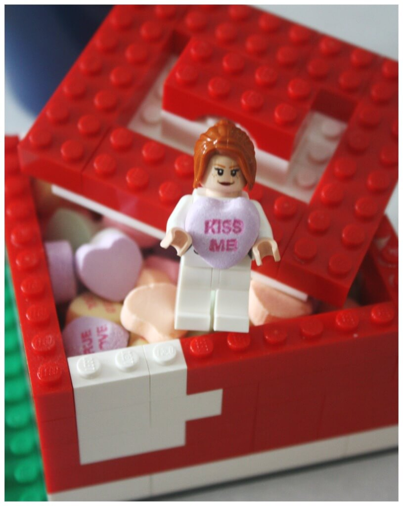 Lego Candy box Heart Candy Activity