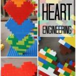 Lego Heart Building Activity Lego Engineering Valentine's Day Legos