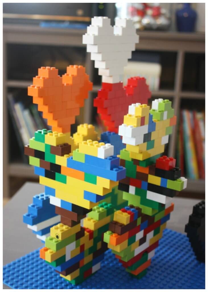 Lego Heart Building Project