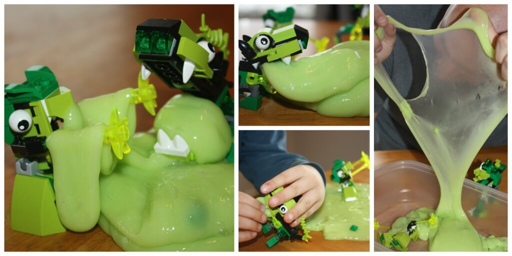 Lego Mixel Monster Slime Sensory Play