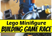 Lego Race Game Lego Minifigure Building Game Race