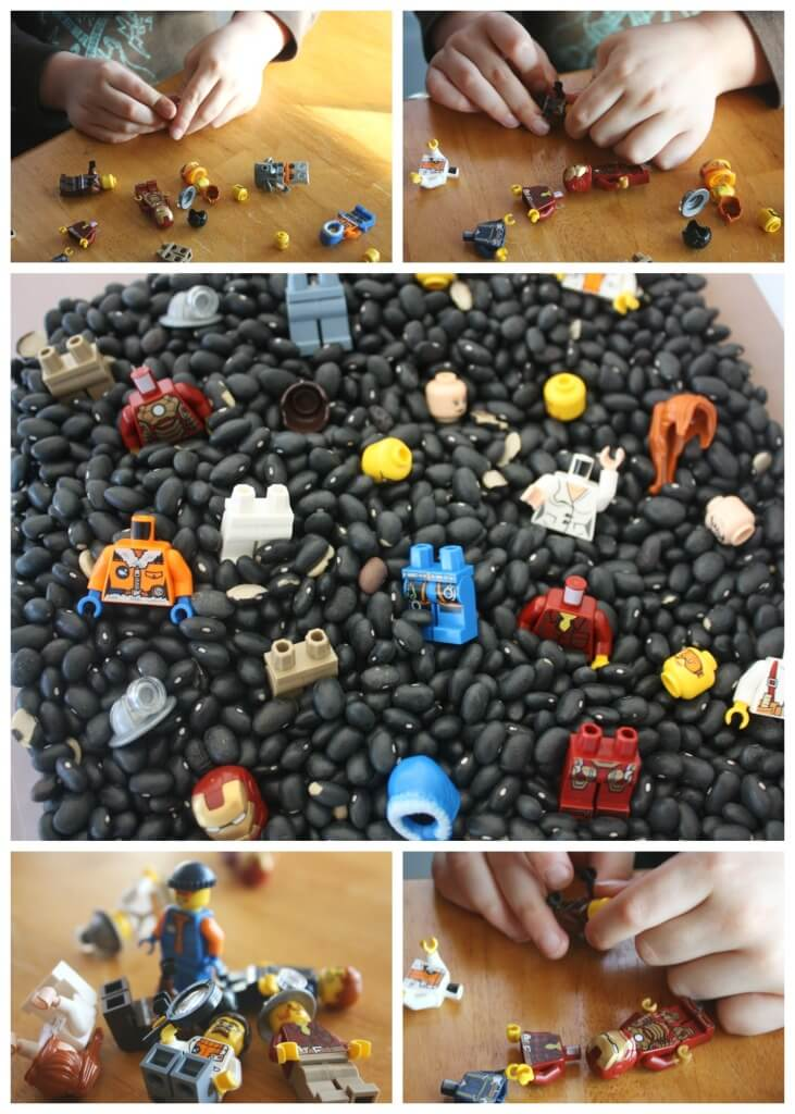 Lego Race to Build Game Lego Minifigure Game Fine Motor Building Skills