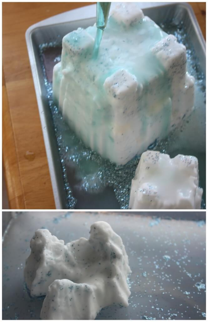 Melting Castles Science Activity Frozen Inspired Play