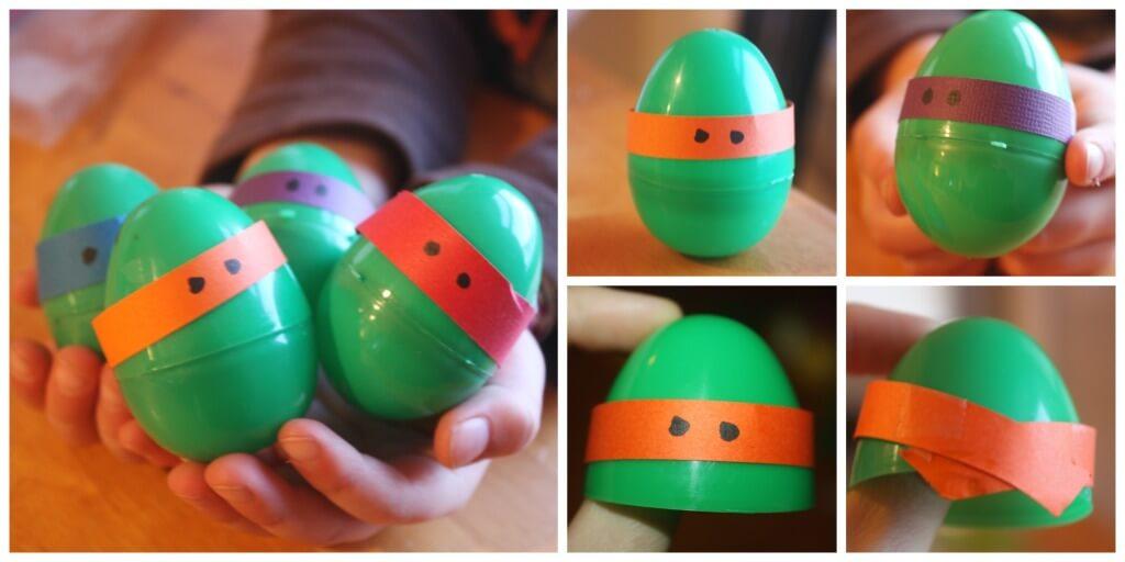 Ninja Turtle Eggs Plastic Egg Ninja