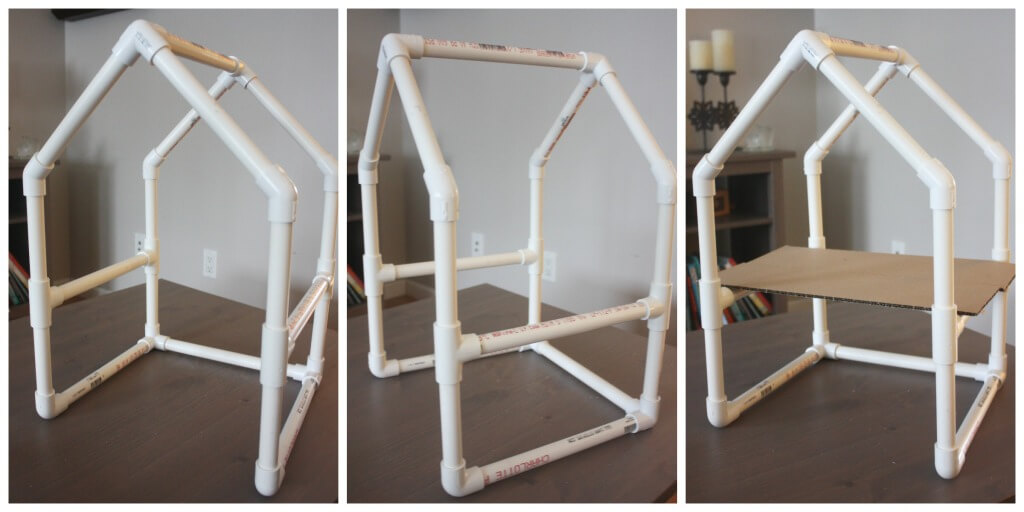 PVC Pipe House Building Project Engineering House Frame activity
