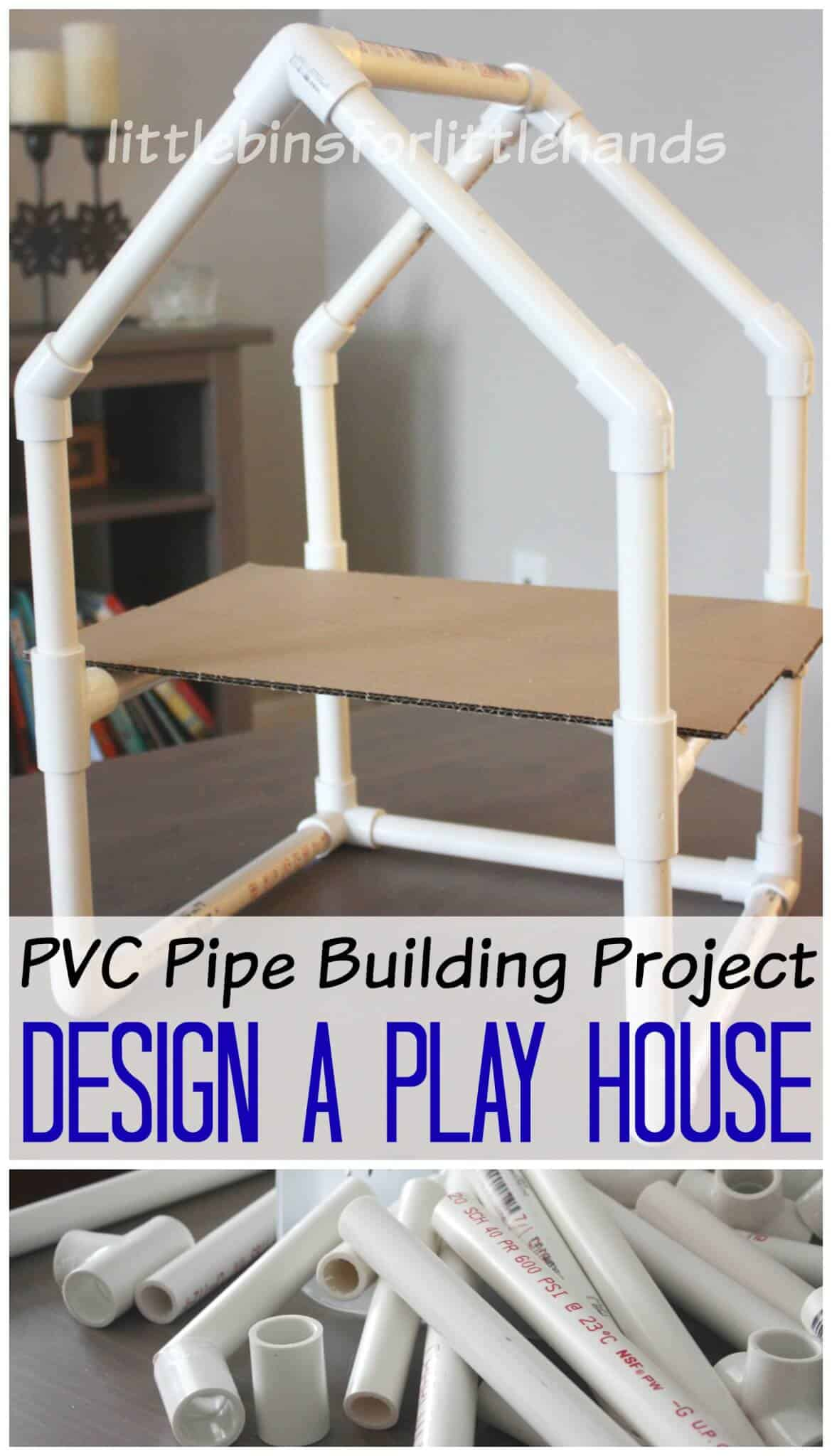 Pvc pipe house building project stem engineering activity for House project online