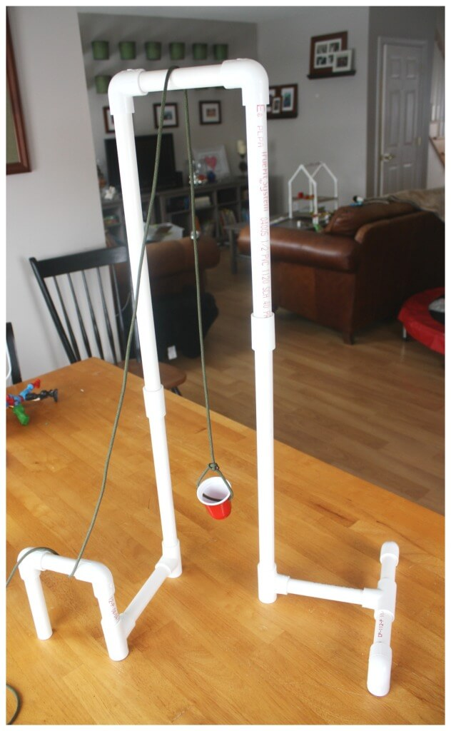 PVC Pipe Pulley Sytem Simple Machine Engineering STEM Activity
