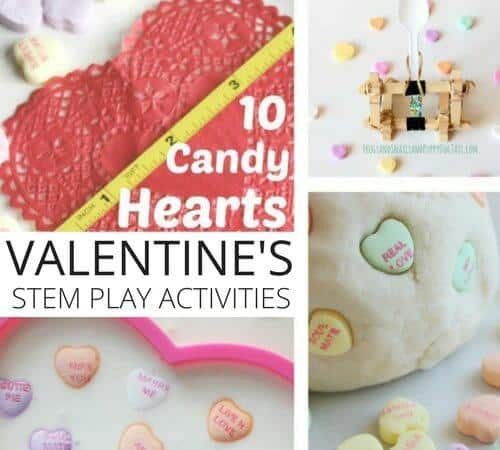 Conversation Candy Hearts Activities for Kids