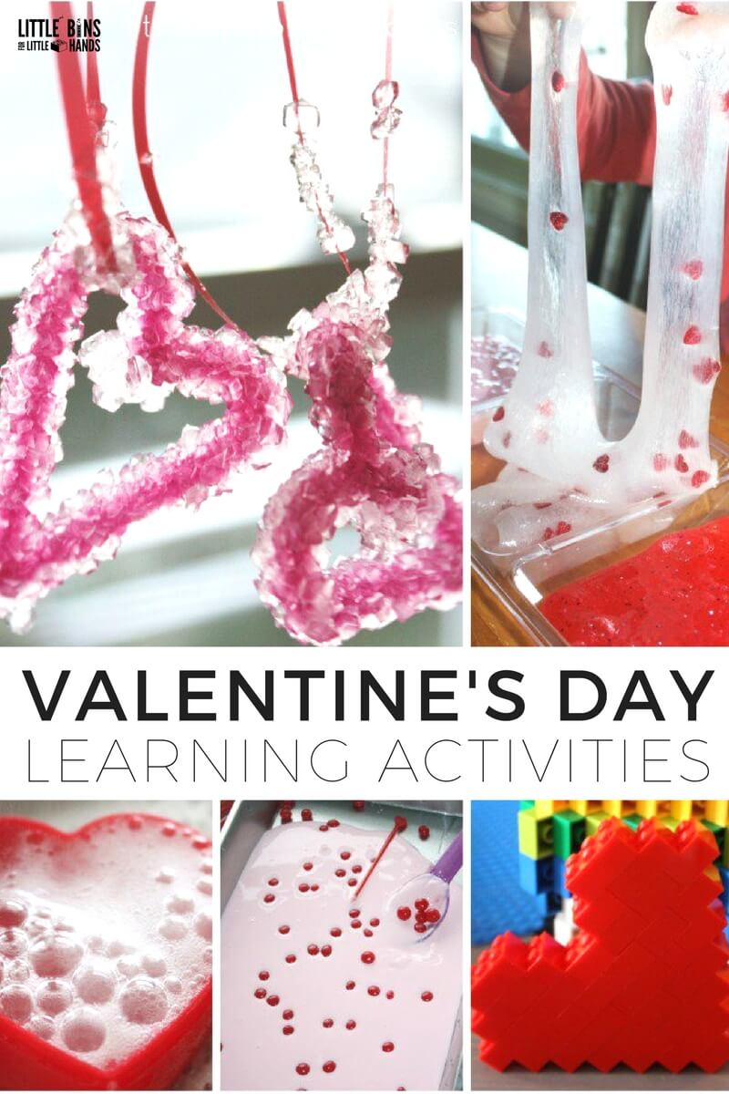 valentines day learning activities and science experiments