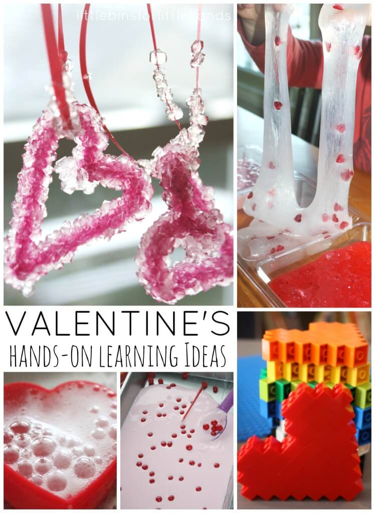 Valentines Day Learning Ideas for Kids