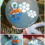 lego slime ornament