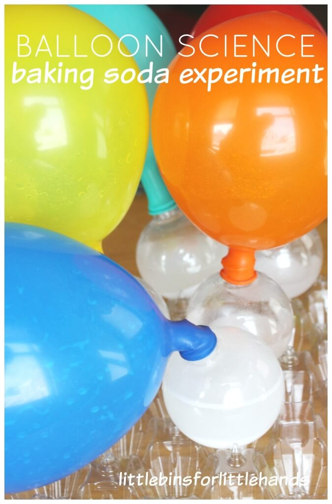 Balloon Baking Soda Activity Blowing Up Balloons Baking Soda Vinegar Experiment