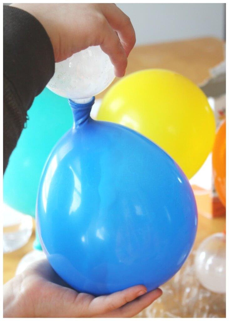 Balloon Science Inflating Balloons Baking Soda Vinegar Science Shaking Balloon