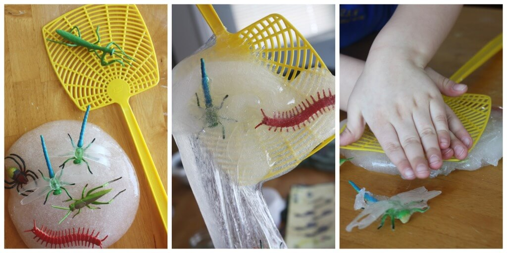 Bug Slime Fly Swatter Play Activity Spring Experiment