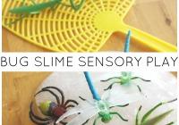 Bug Slime Sensory Play Activity