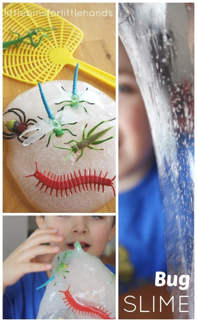 Bug Slime Spring Sensory Play Insect Activity