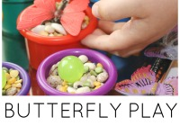 Butterfly Sensory Play Spring Fine Motor Play Activities