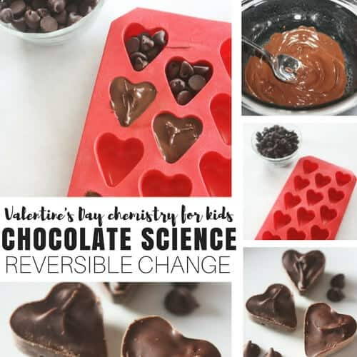 Chocolate Science Reversible Change Chemistry for Kids