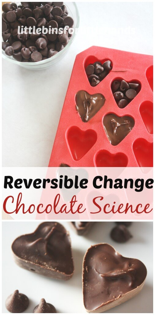 http://littlebinsforlittlehands.com/chocolate-science-reversible-change-food-science/