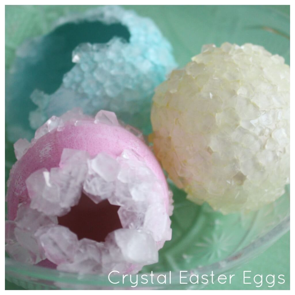 Crystal Eggs Easter Science Borax Crystals