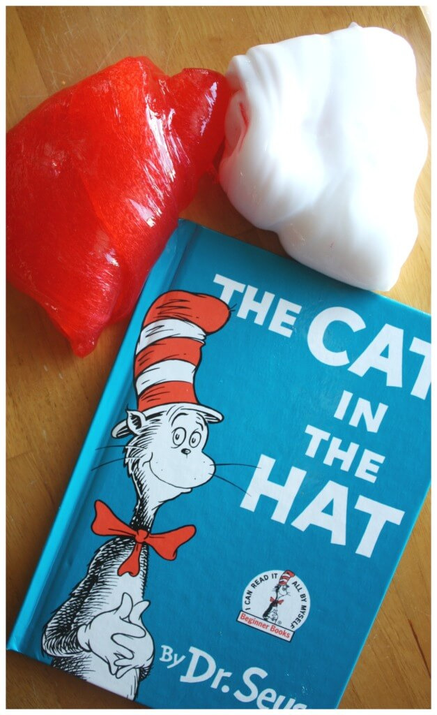 Dr Seuss Slime Cat In The Hat Book activity Cat In The Hat Slime