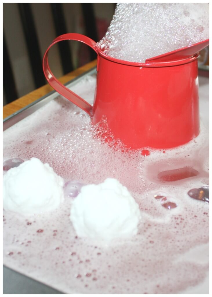 Heart Bombs Baking Soda Valentines Day Science