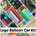 Lego Balloon Car Kit Portable Lego Box Lego Car Building
