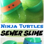 Ninja Turtles Slime Recipe Sewer Slime Sensory Play