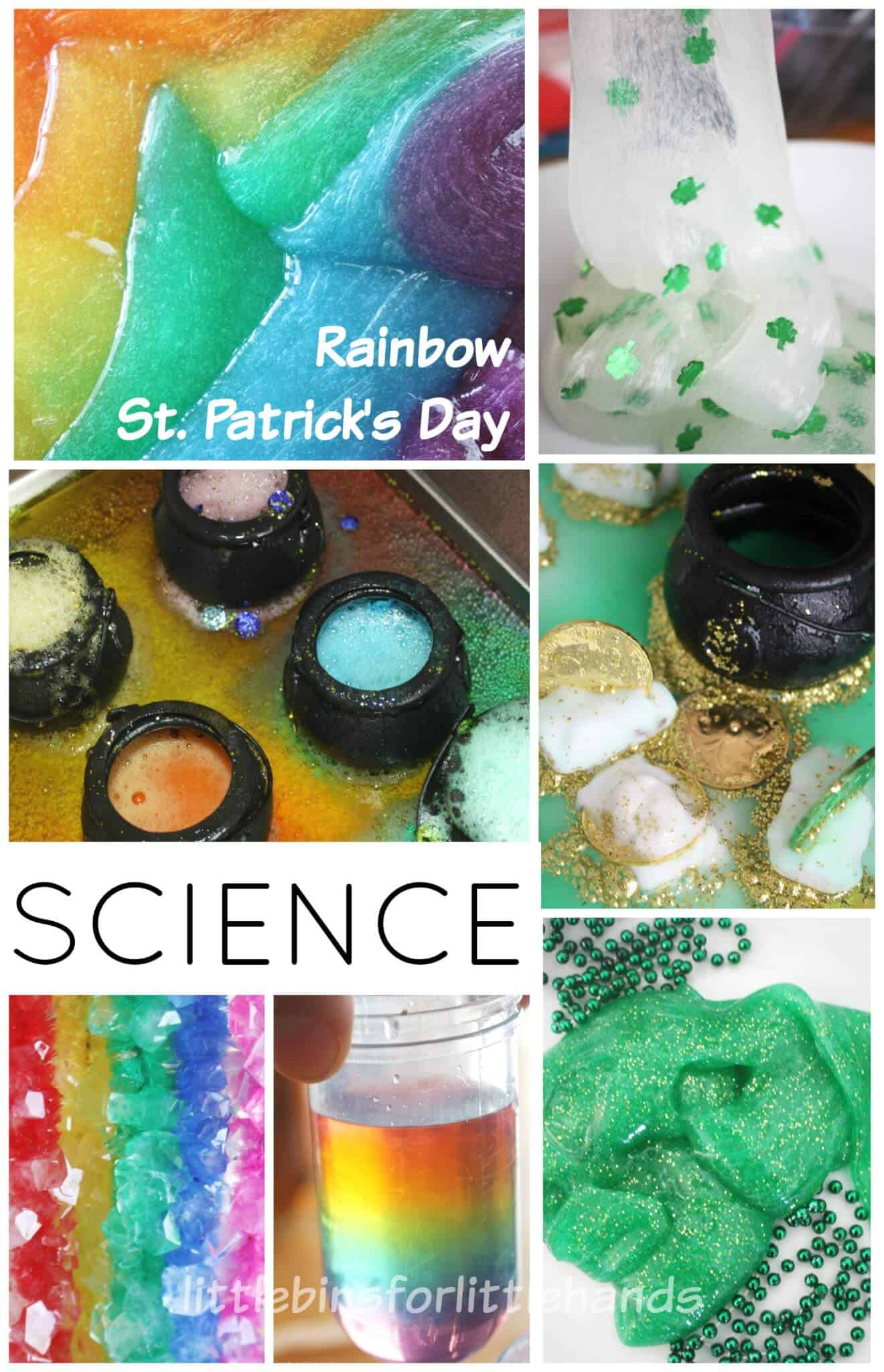 St Patricks Day Rainbow Science Experiments STEM Ideas