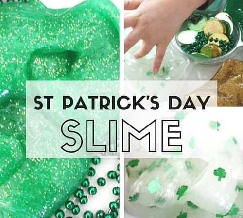 St Patricks Day Slime Slime Science Recipe