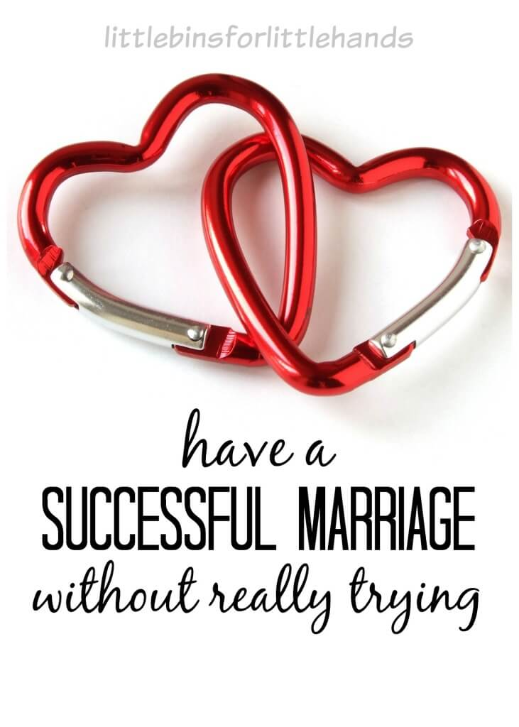 Successful Marriage How To Have One Without Really Trying