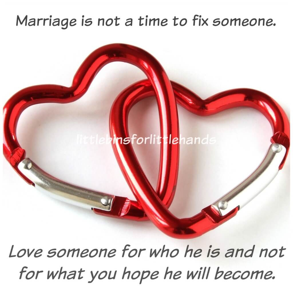 Successful Marriage Love Someone Not Fix Someone