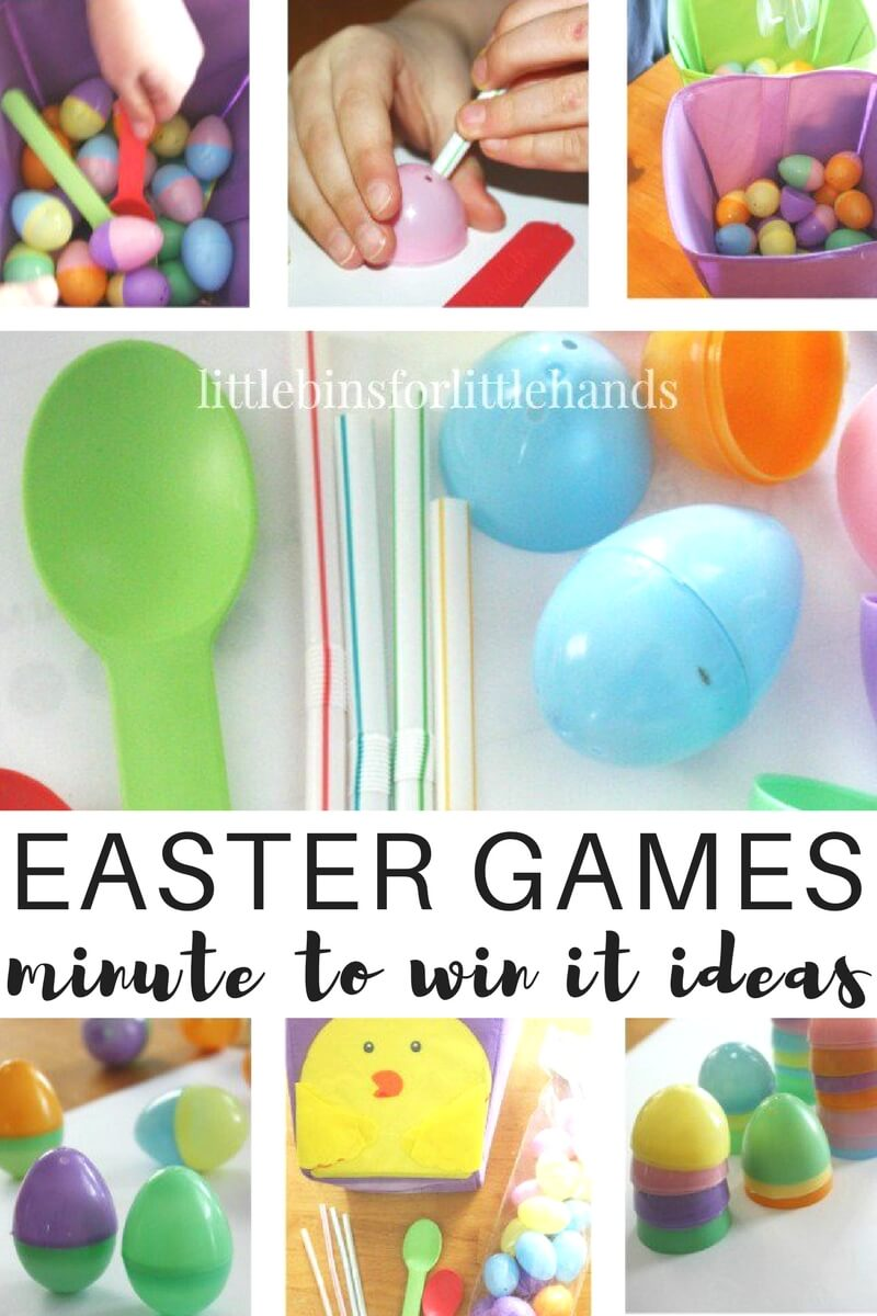 Minute to win it easter games family game time save negle Images