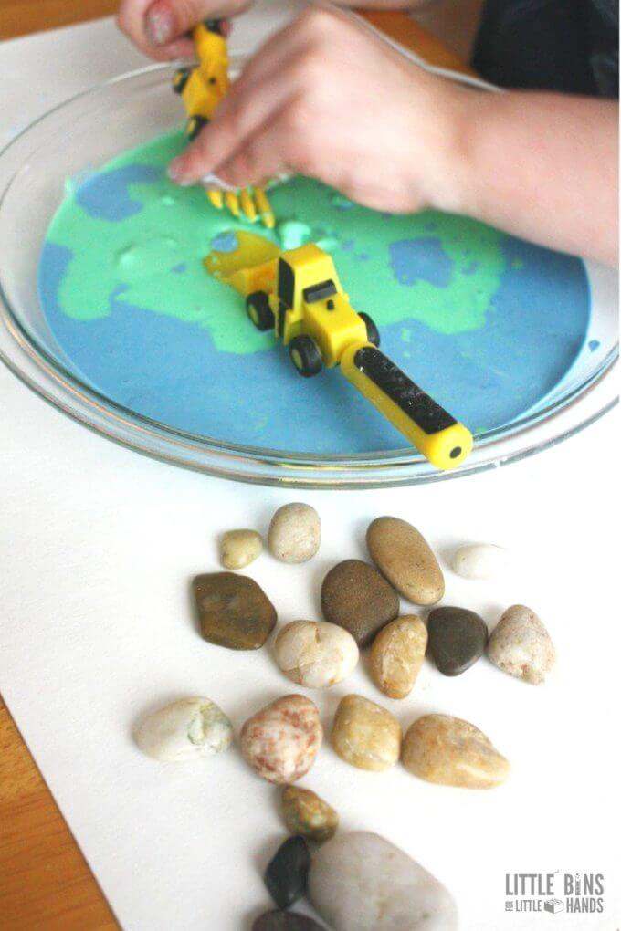 Make oobleck for Earth Day science and sensory play in one simple activity