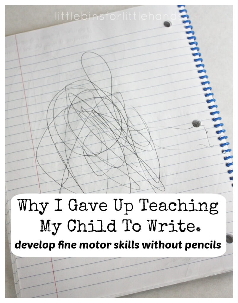 Develop Fine Motor Skills Without A Pencil Fine Motor Activities Handwriting