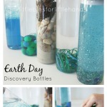 Earth Day Discovery Bottles Preschool Sensory Science Bottles
