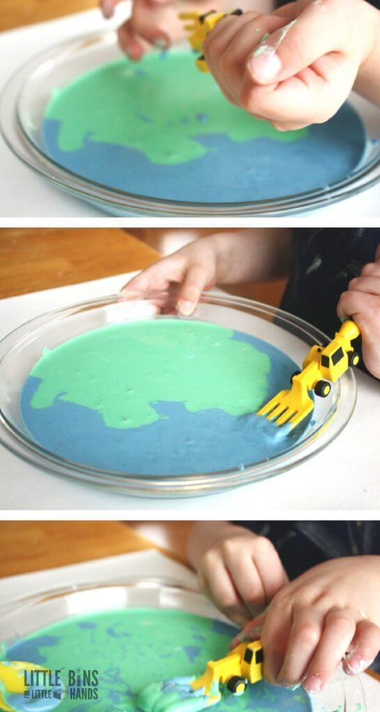 Earth day goop science activity