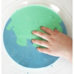Earth Day Oobleck Science Earth Day Sensory Play