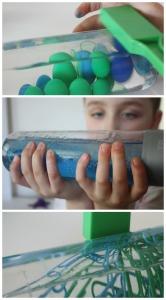 Earth Day Wave Bottle Magnet Bottles