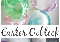 Easter Oobleck Sensory Play
