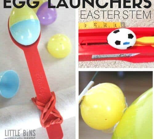 Egg Launchers Easter Science Activities